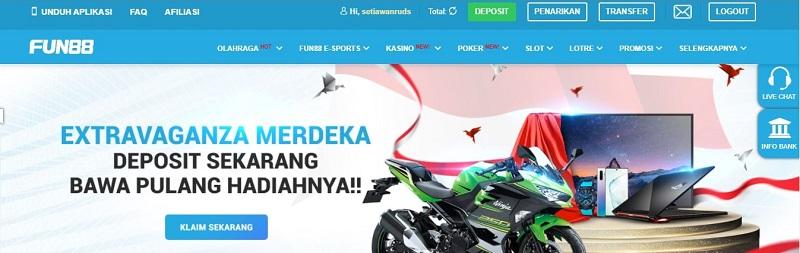 Bandar Judi Bola Indonesia Fun88