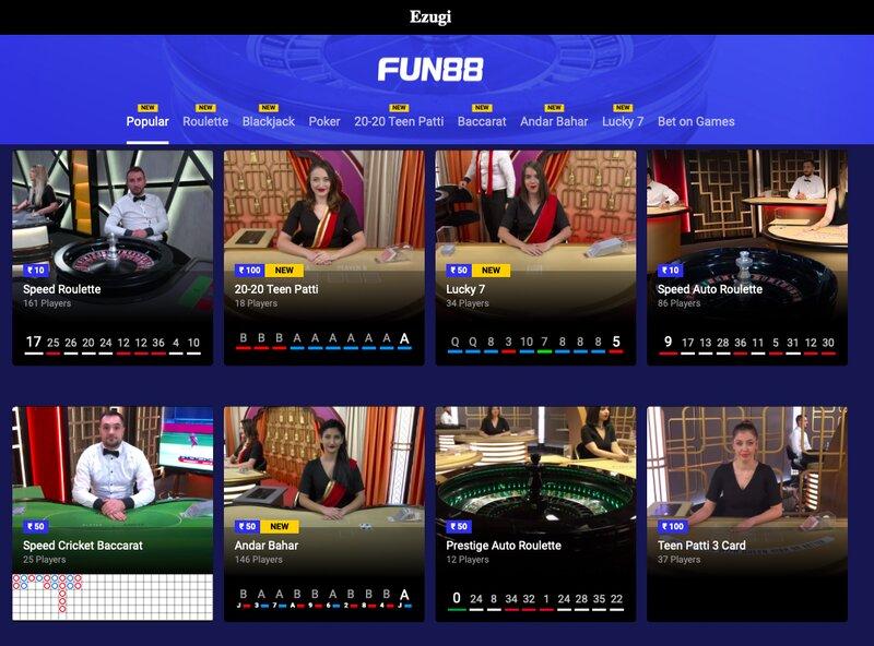 Jenis Taruhan Permainan Roulette Di Fun88