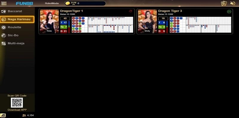 Pilihan Sederhana dalam Dragon Tiger Game